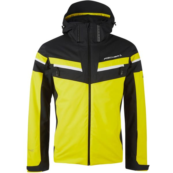 Fischer Men Jacket OBERVELLACH evening yellow