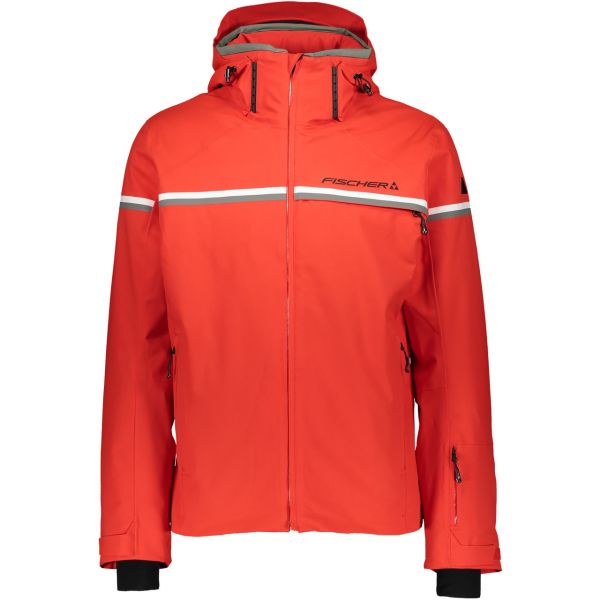 Fischer Men Jacket Fieberbrunn firey red