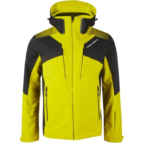 Fischer Men Jacket HANS KNAUSS evening yellow