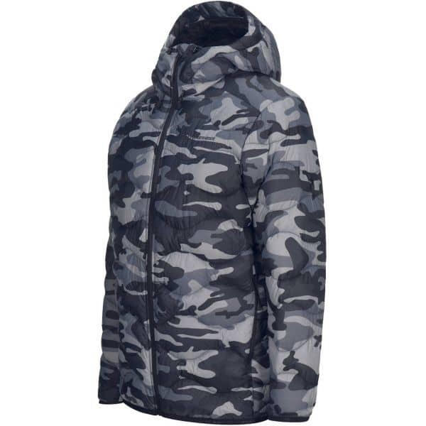 Peak Performance Men Jacket Helium Hooded camo pattern